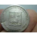 Moneda De Venezuela De 50 Centimos De 1965 (niquel)