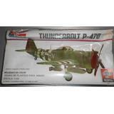 Wwii Armar Avion Thunderbolt P-47d 1/48 Monogram 1973
