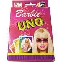 Jogo De Cartas Uno - Barbie - Lacrado