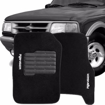 Tapete Carpete Bordado Ford Ranger Cabine Simples 96/11