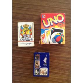 Juego De Cartas Uno Varios Juegos De Mesa Usado En Mercado Libre