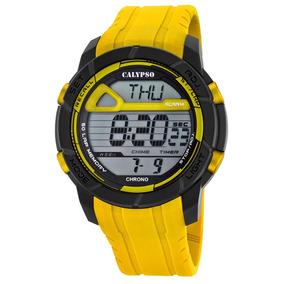 668020d4e0c4 Reloj K5697 1 Amarillo Calypso Hombre Color Run por Festina Group