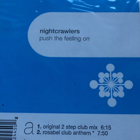 Nightcrawlers Push The Feeling On Disco Vinilo 12 Usa Remix
