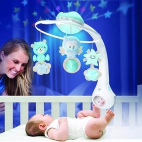 Smart Móbile Bebê Musical Giratório Iluminado 3 Fases Rosa