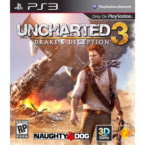 Juego Ps3 Sony Uncharted 3 La Traicion De Drake