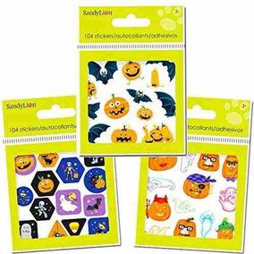 Pegatinas De Halloween Party Pack (más De 300 Etiquetas Eng