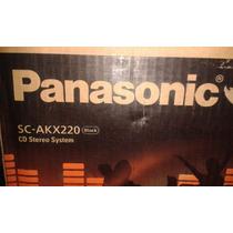 Equipo De Sonido Panasonic Akx 220 Bluetooth Usb 450 W