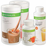 Kit Herbalife 2 Shake, Chá Verde 50g E Fiber Concentrate