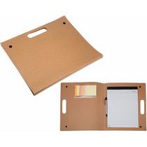 Portafolio Green Top De Cartón Impreso Con Tu Logotipo