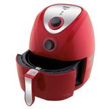 Fritadeira Sem Oleo Elétrica Philco Vermelha Air Fry 3l Luxo