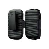 Blackberry Torch 9800 Funda Holster Combo Clip 3 En 1 Negro