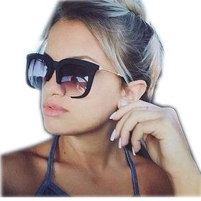 Óculos Feminino Quadrado Mascara Aberto Rasor Uv400 + Case