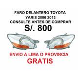 Cd Faros Delanteros Toyota Yaris 2014-2017 Envío Gratis