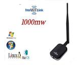 Tarjeta Wifi Usb 1000mw Antena 5dbi Desmont - Alto Poder