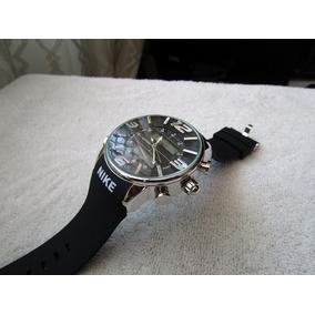 reloj nike touch caucho negro