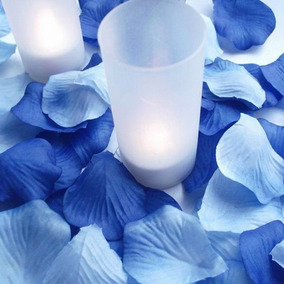 1,500 Petalos Azules Premium Para Bodas, Xv Años, Bautizos