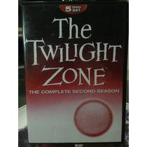 The Twilight Zone Segunda Temporada, Dvd 5 Discos Nueva.