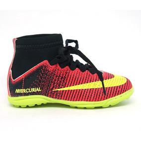 2806275782 Chuteira Nike Cano Alto Infantil Futsal Tamanho 32 - Chuteiras ...