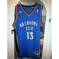 Jersey Basquetbol Nba Adidas Oklahoma City Grande