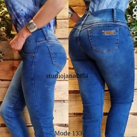 Jeans Pantalon De Dama Studio Levanta Cola Bota Tubo