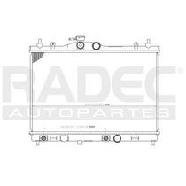 Radiador Nissan Tiida 2007-2008-2009 L4 1.6/1.8lts Automatic
