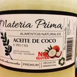 Aceite De Coco Virgen Neutro - X 330 Cm3 Materia Prima