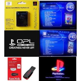 Memory Crad + Opl, + Pendrive 16 Gb + Jogos Frete Grátis!