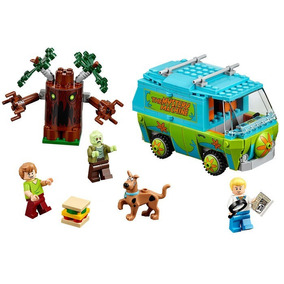 Kit Scooby Doo Furgao The Mistery Machine C/ Salsicha 305pcs