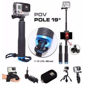 Gopro Bastón Selfie Monopod Accesorios Hero 5 4 3 2+regalo