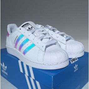 adidas Superstar Iridiscent Con Caja 12msi