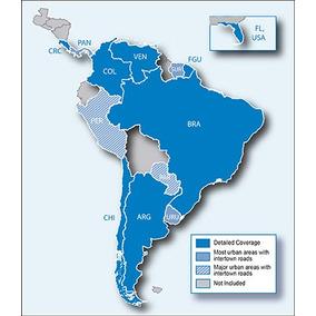 Atualização Mapa America Do Sul, Brasil Gps Garmin Nüvi 40