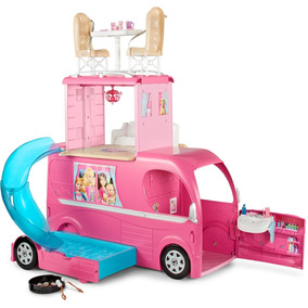 Carro Camper Pop-up De La Barbie - Rosado