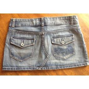 Falda Jeans Para Dama Marca Vagos Talla 10