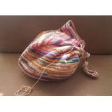 Bolso Wayuu Grande (kaatoi) Como Nuevo ¡¡ Negociable
