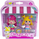 Pinypon Famosa Pack X 2 C/accesorios Casa Valente