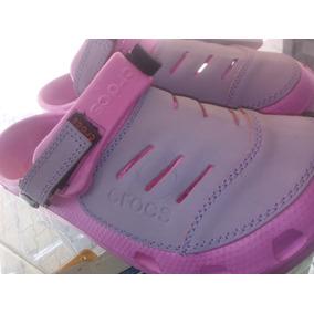 Sandalias Crocs Yukon De Dama Originales