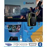 Caixa De Som Bluethoot 300w Com Projetor + Tela Completo