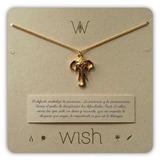 Joyas Dulcementa Wish Whclcd027o Collar Cadena Oro Elefante