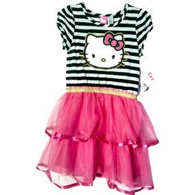 Vestido Americano Para Niña Hello Kitty Talla 7 A 8 Original