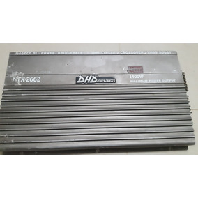 Planta Amplificador Dhd Modelo Ntx 2662 De 1400 Watts