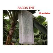 Sacos Tnt P/ Proteção Cacho De Banana 1,50 X 0,80 Cm  15 Un