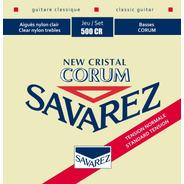 Savarez 500cr New Cristal Corum Encordado Guitarra Clasica