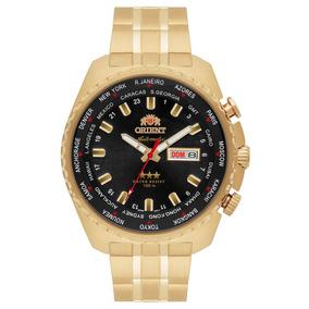 Relógio Orient Masculino Ref: 469gp057 P1kx Automático Gmt