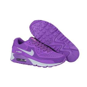 Zapatilla Nike Air Max 90 Kpu Dama Violeta - Floresta