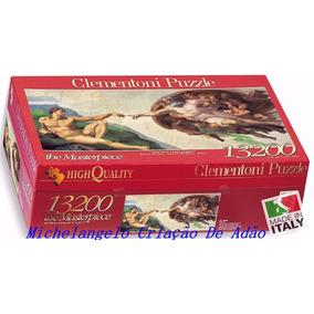 Quebra Cabeça Michelangelo Criação De Adão Puzzle 13.200
