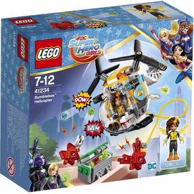 Lego Dc Super Hero Girls Helicoptero De Bumblebee 41234