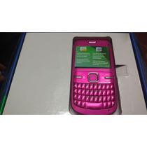 Nokia C3 Rosa.liberado.nuevo $1199 Con Envío.