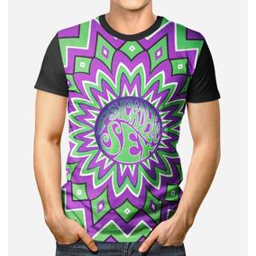 Camiseta Roupa Unissex 3d Full Psicodelia Manifestação Mente