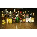 Botellas Miniatura Colección