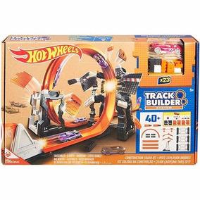 Hot Wheels - Track Builder Kit De Construção Radical
